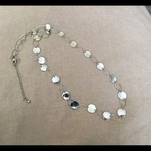 Chico's silver necklace
